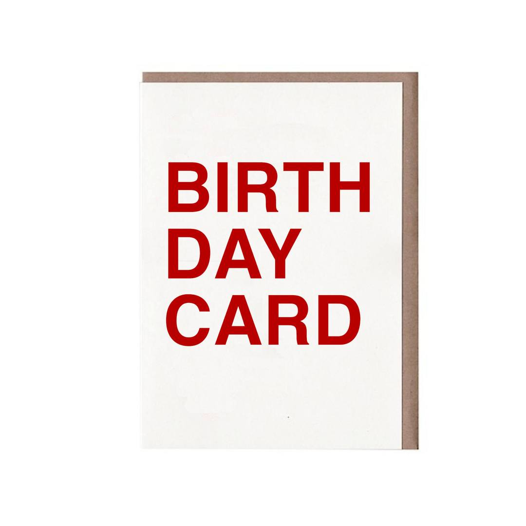 Birth Day Card