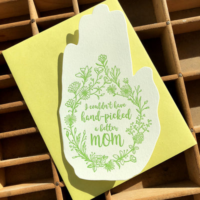 Handpicked Mom Card
