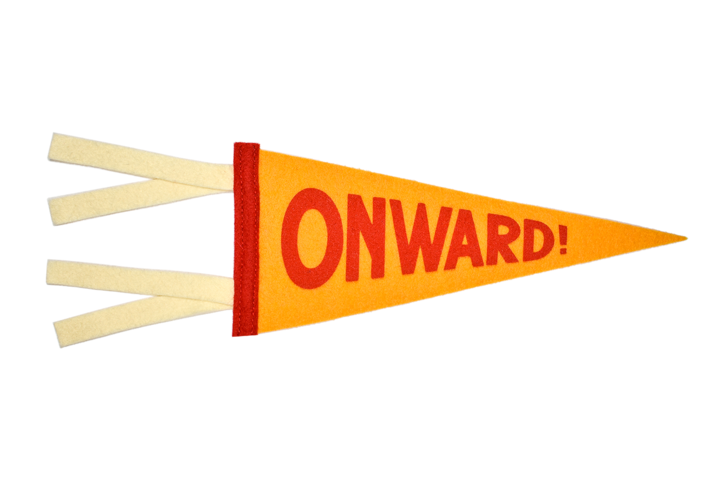ONWARD MINI PENNANT • OXFORD PENNANT ORIGINAL