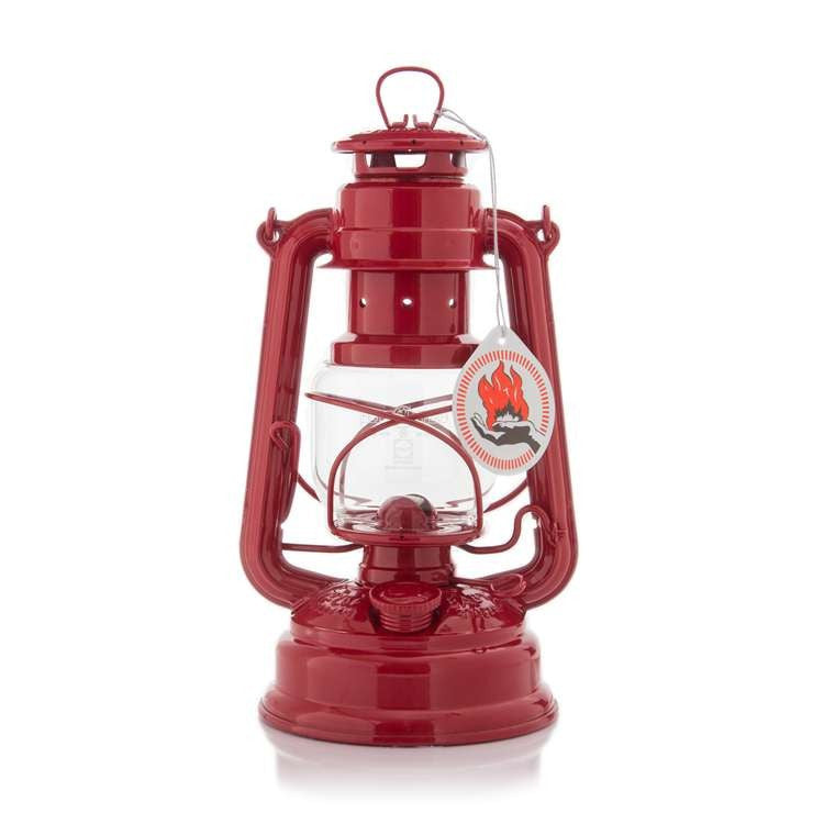 Hurricane Lantern - Ruby Red