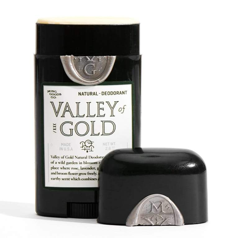 Natural Deodorant - Valley of Gold