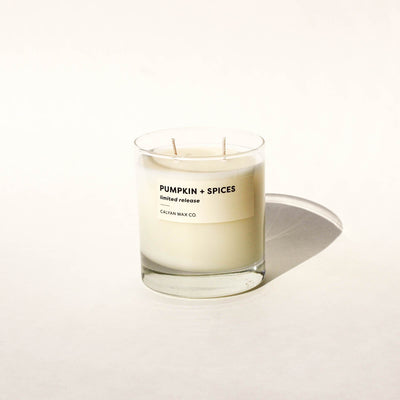 Pumpkin + Spices Soy Candle | Limited Release