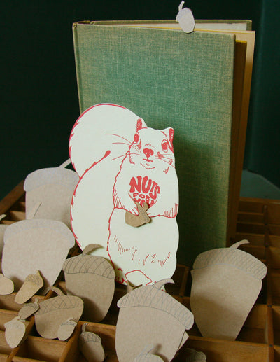 Squirrel Nuts for You Card