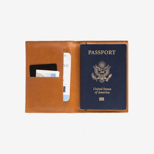 WWT Passport Wallet - Toffee