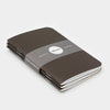 Word. Notebooks - Black (3 Pack)