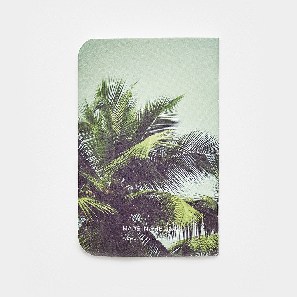 Word. Notebooks - Palm (3 Pack) - Limited Edition