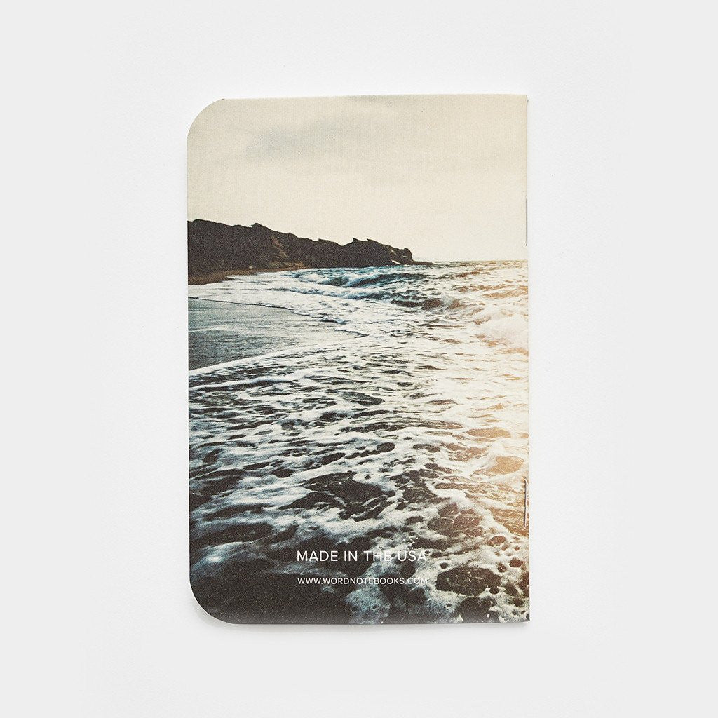 Word. Notebooks - Surf (3 Pack) - Limited Edition