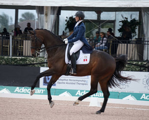 Jessica Rhinelander's Inspirational Journey From Young Rider to International Dressage