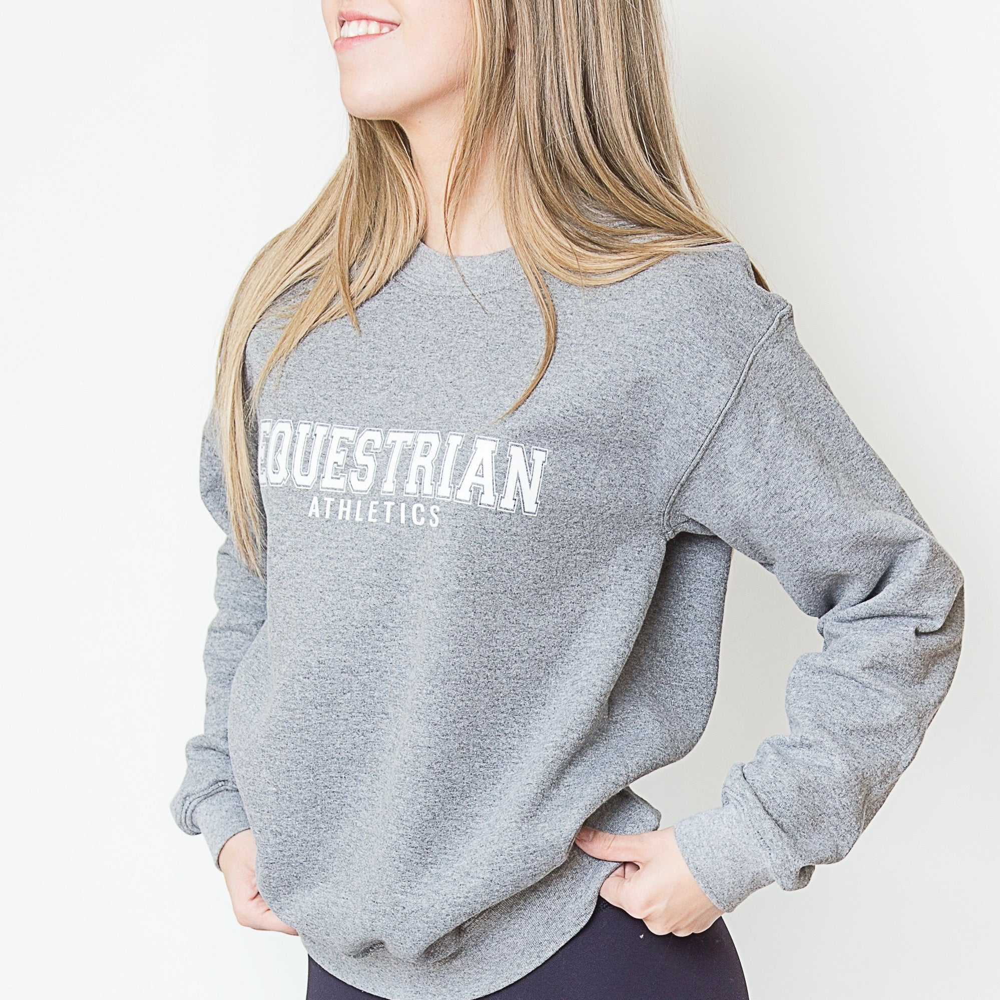 EQUESTRIAN ATHLETICS Sweatshirt | Fog