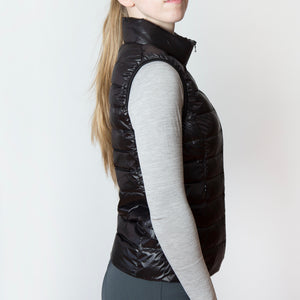 The 'EZ' Packable Down Vest | Classic Black