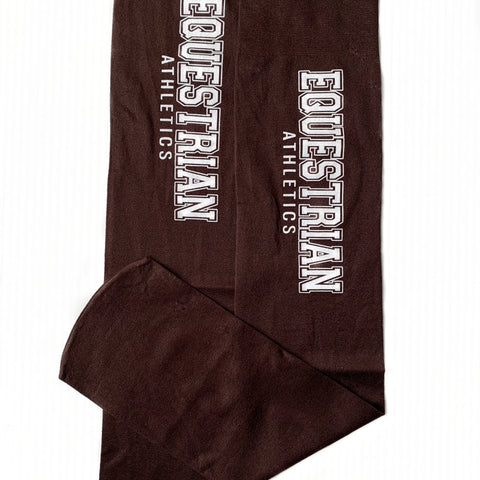 EQUESTRIAN ATHLETICS Boot Socks | Espresso