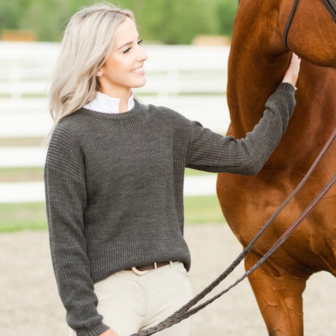 Knit Sweater | Truffle
