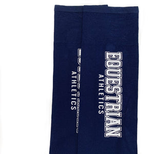 EQUESTRIAN ATHLETICS Boot Socks | Classic Navy