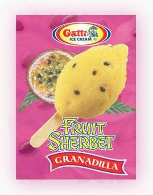 Fruit Sherbet Granadilla Ice Cream Lollies