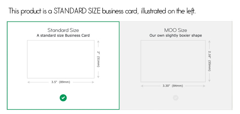 Standard business card by moo nycelisting colourmoves