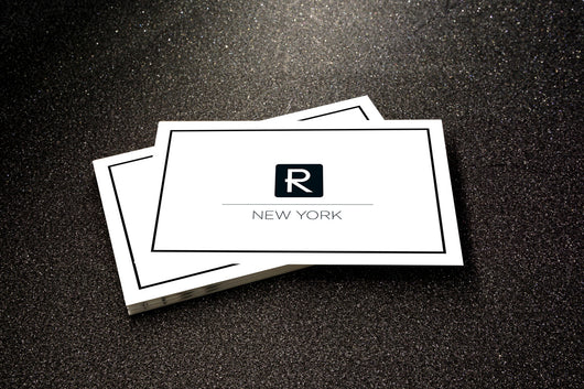 R New York Luxe Business Card By Moo Nycelisting