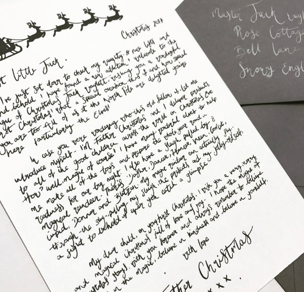 Baby's 1st Letter from Father Christmas - Personalised