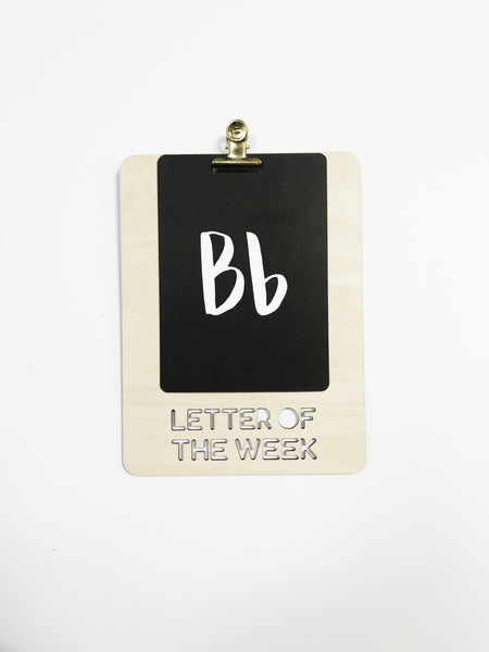 Sound of the Week Clip Board