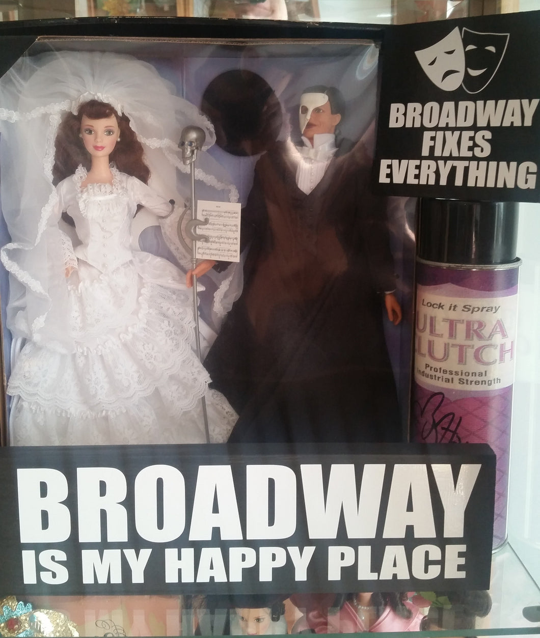 Broadway Is My Happy Place Sign