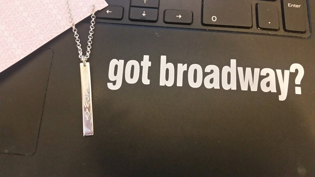 got broadway?  Laptop Decal - FREE SHIPPING