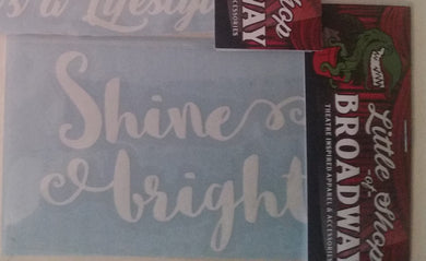 Shine Bright Decal FREE SHIPPING