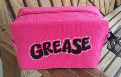 Grease Make Up Bag