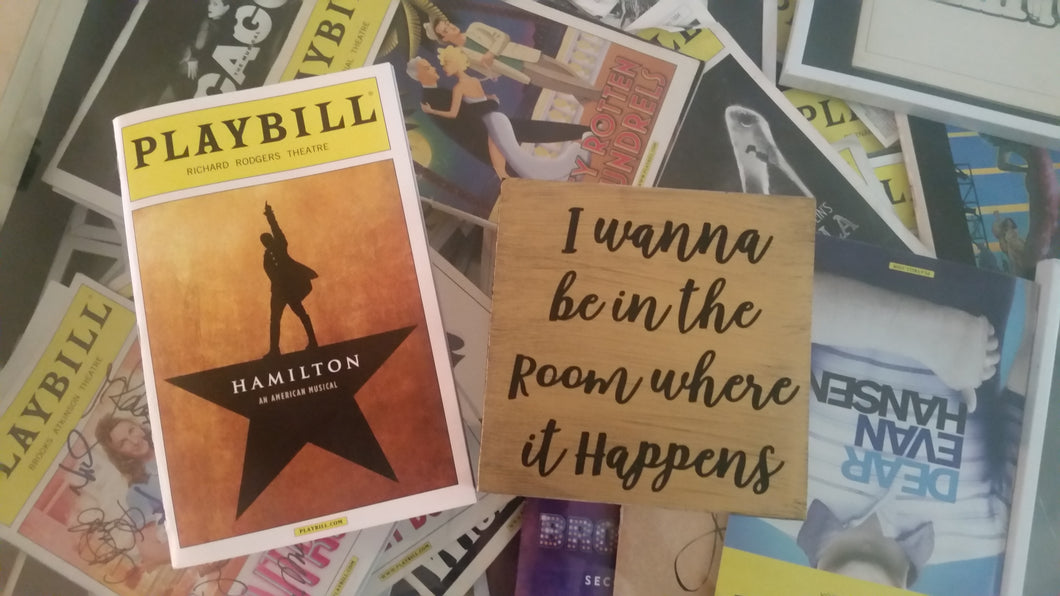 HAMILTON - I Wanna Be In The Room Where it Happens