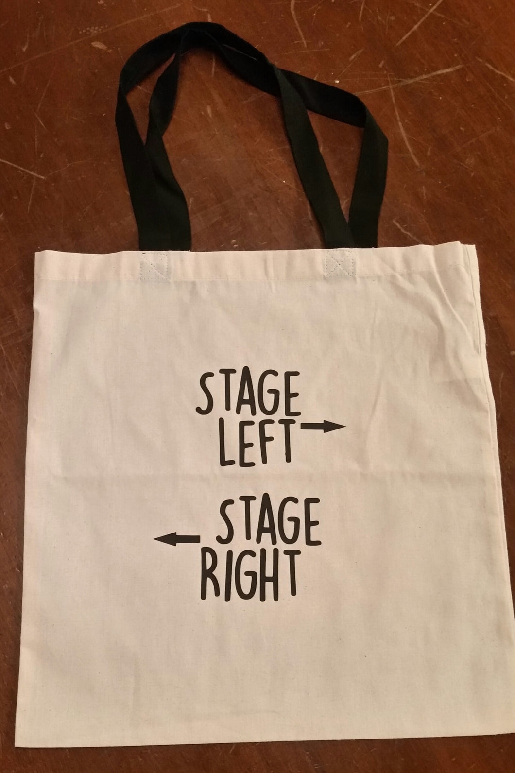 Stage Left Stage Right Script Tote