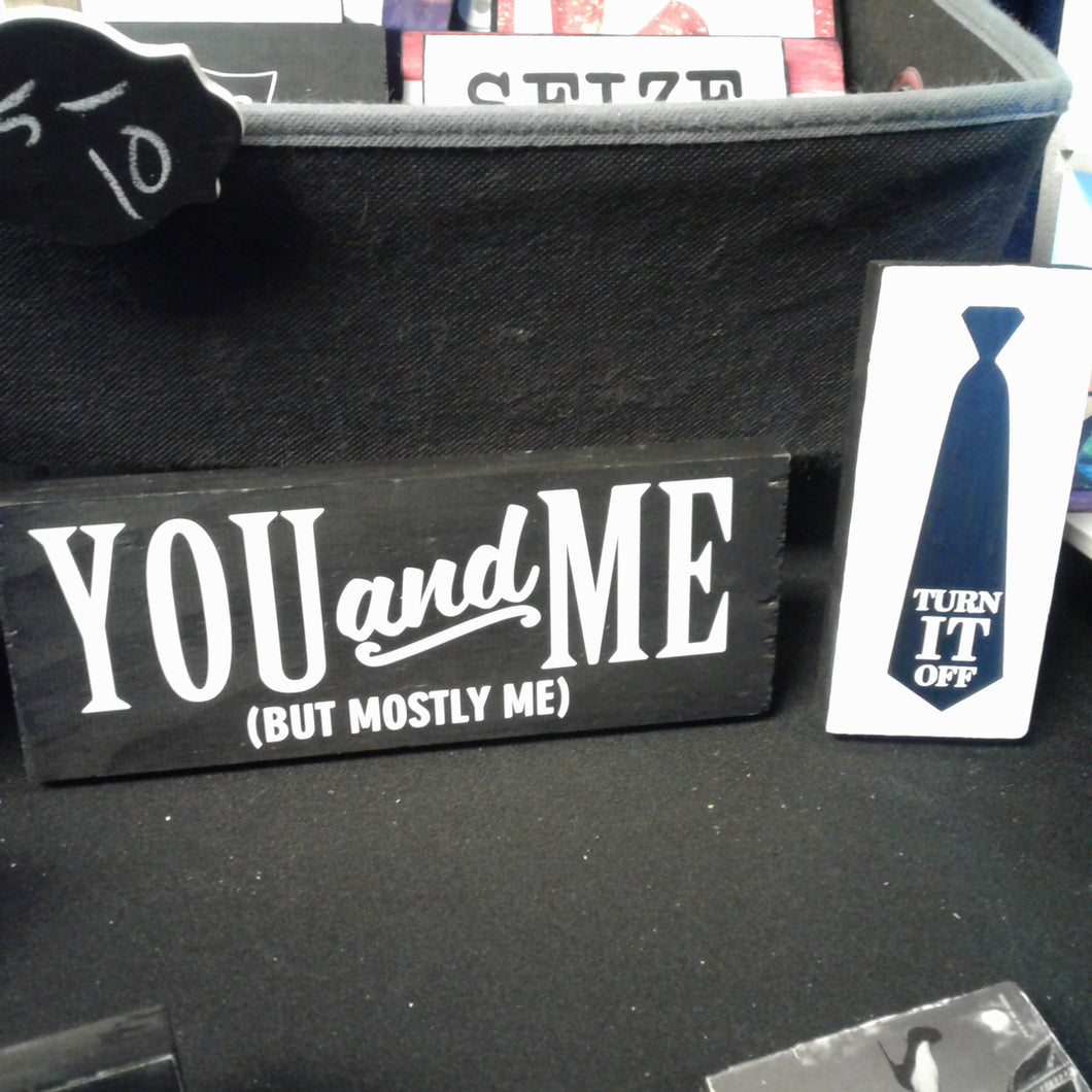 Book of Mormon - You and Me Mini Sign