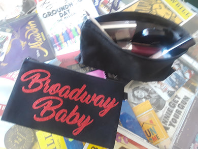 Broadway Baby Zip Pouch (Small)