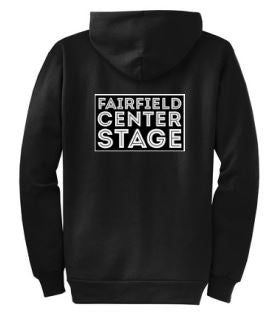 Fairfield Center Stage Zip Up Front & Back