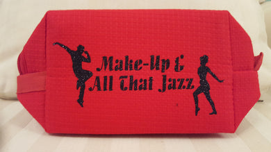 All That Jazz Cosmetic Bag