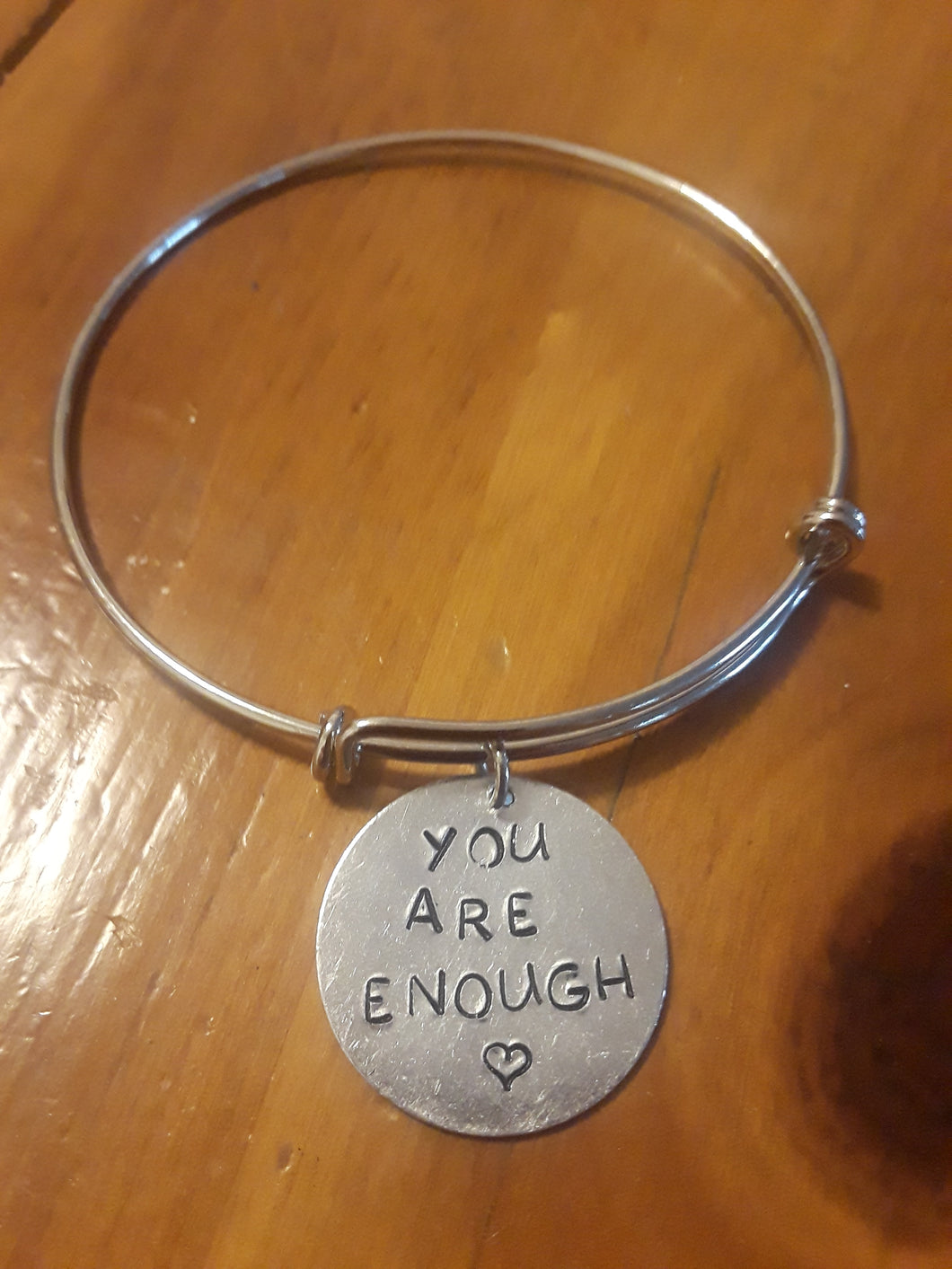 You Are Enough Charm Bracelet