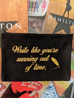 Zippered Pouch  - Hamilton Inspired