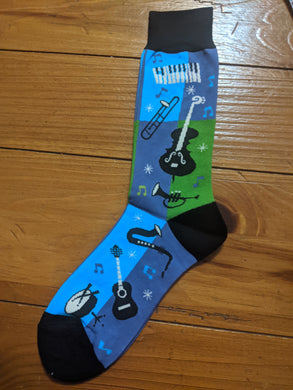 Men's Jazz Crew Socks