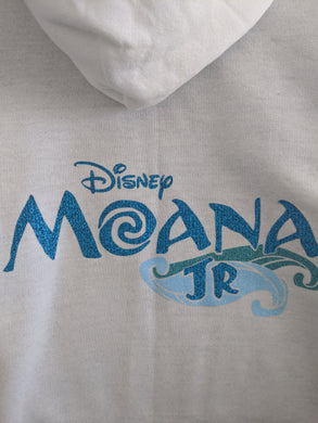 Cast Keepsake Full Zip Hoodie - Moana Jr with NAME embroidered