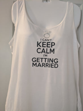 I Can't Keep Calm Tank Top