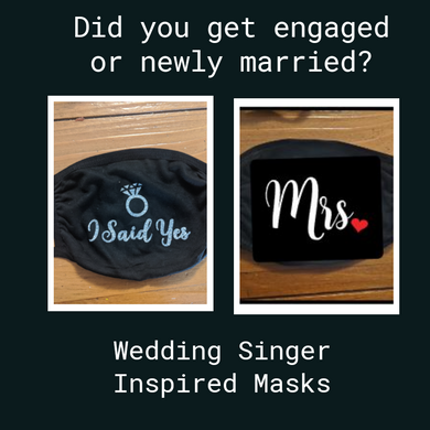 Custom Bridal Face Covering