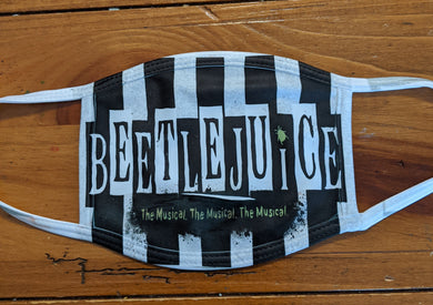 Beetlejuice Face Covering