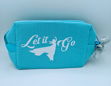 Let it Go Cosmetic bag