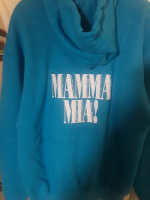 Mamma Mia Aqua Cast Keepsake Full Zip Hoodie