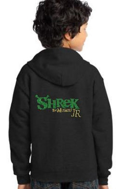 Cast Keepsake Full Zip Hoodie - Shrek with NAME embroidered