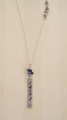 24601 Hand Stamped Necklace