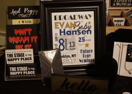 Broadway Baby Birth Announcement Print