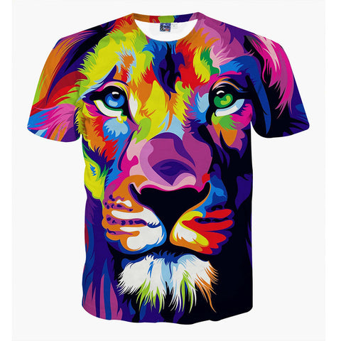 Colorful Lion T-Shirt