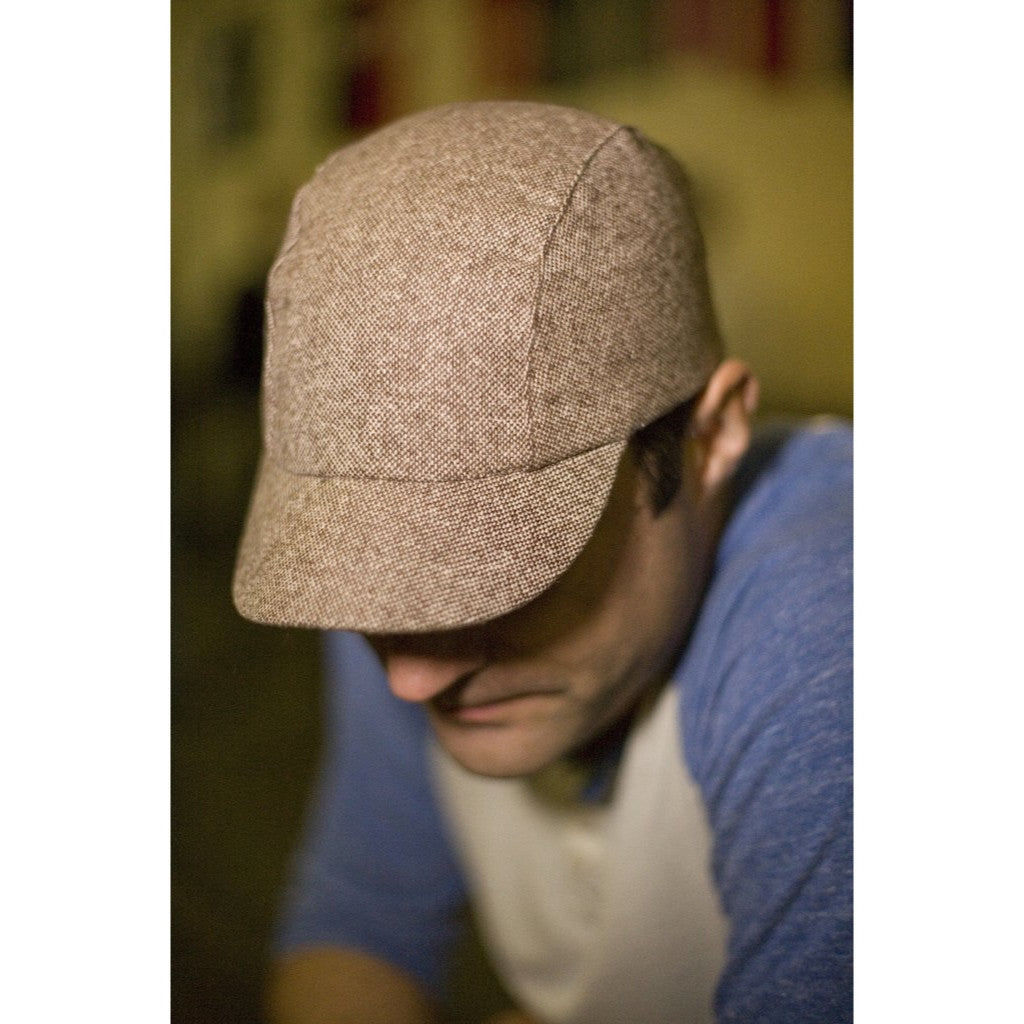Walz Caps - Velo/City Cap - Brown Tweed - Les Facteurs