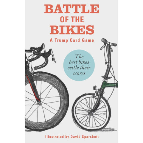 Laurence King - Battle of the bikes - A trump card game - Les Facteurs