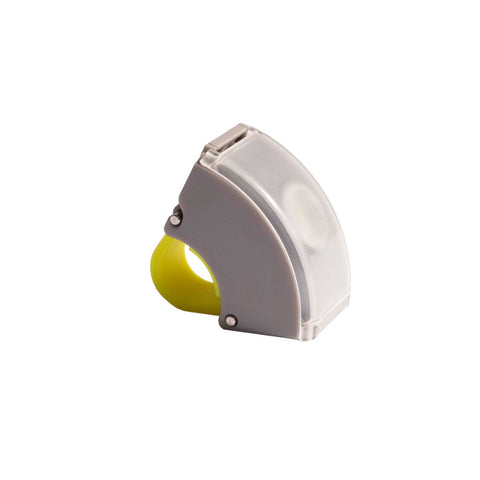 Bookman - Curve Front Light V.2 - Gray/Acid Yellow - Les Facteurs