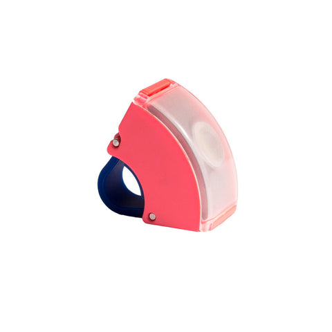 Bookman - Curve Front Light V.2 - Neon Coral Pink/Dark Blue - Les Facteurs