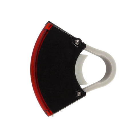 Bookman - Curve Rear Light - Black - Les Facteurs